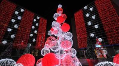 Decoración de Navidad.