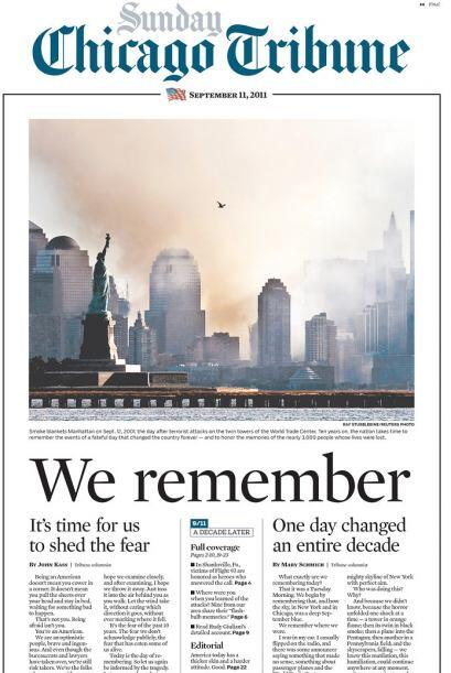 Cortesía de The Chicago Tribune vía Newseum.