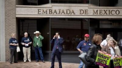 Embajada de México.