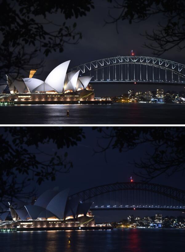 En fotos: El planeta apaga la luz por una hora para encender la concienc...