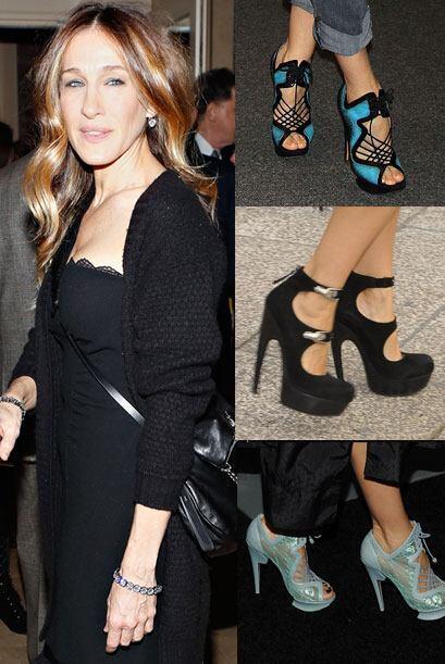 La actriz es una gran amante de los zapatos y gracias a su buen gusto po...