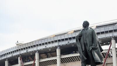 Luzhnikí, sede de Rusia 2018, un histórico escenario vigilado por Lenin
