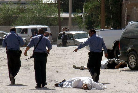 En el 2008, fueron asesinadas 1,623 personas por esa causa en Ciudad Juá...