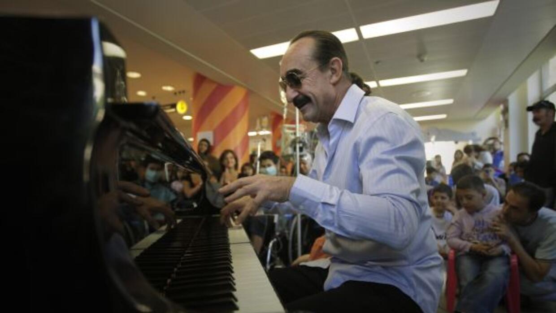 El pianista sufrió un infarto en septiembre pasado y ahora se encuentra...