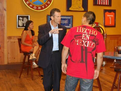 La República Deportiva tuvo un invitado de lujo