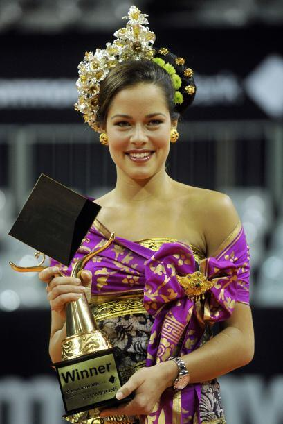 Esta semana no hubo movimientos en el 'Top Ten' WTA, sin embargo la serb...