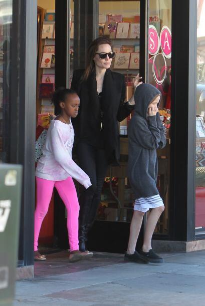 Angelina ya puede descansar otra vez...