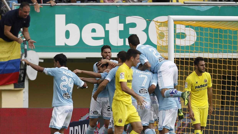 Nolito da triunfo a Celta sobre Villarreal