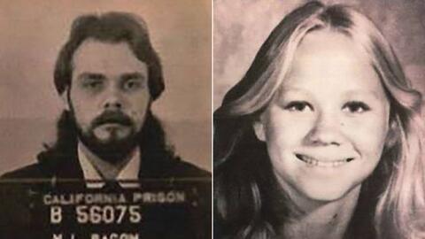 Mitchell Lynn Bacom fue arrestado por el asesinato de Suzanne Bombardier...