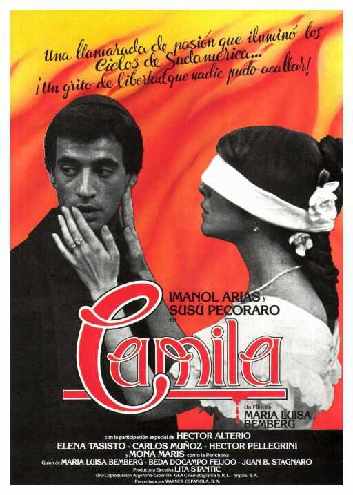 Camila(1984), Argentina, EspañaDirector: María Luisa BembergReparto: Sus...
