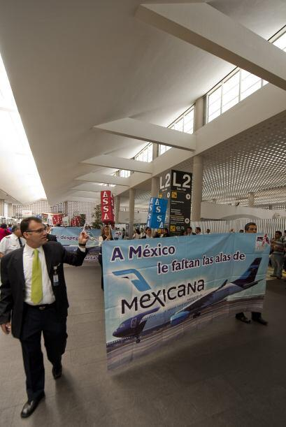 Fue el 28 de agosto de 2010 cuando Mexicana de Aviación y sus filiales d...