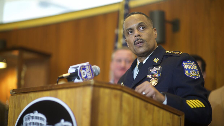 El comisario de Policía de Filadelfia, Richard Ross.