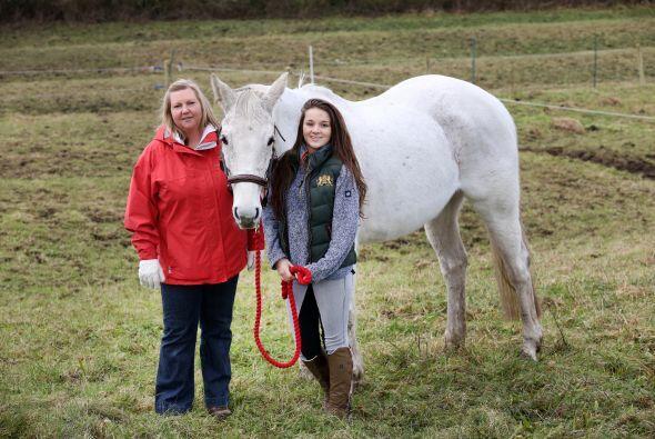 La familia de Amy y ella, están sorprendidos de la recuperaci&oac...