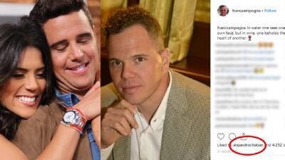 El 'like' de Alejandro Chabán al prometido de Francisca Lachapel que gustará a muchos fans de la dominicana
