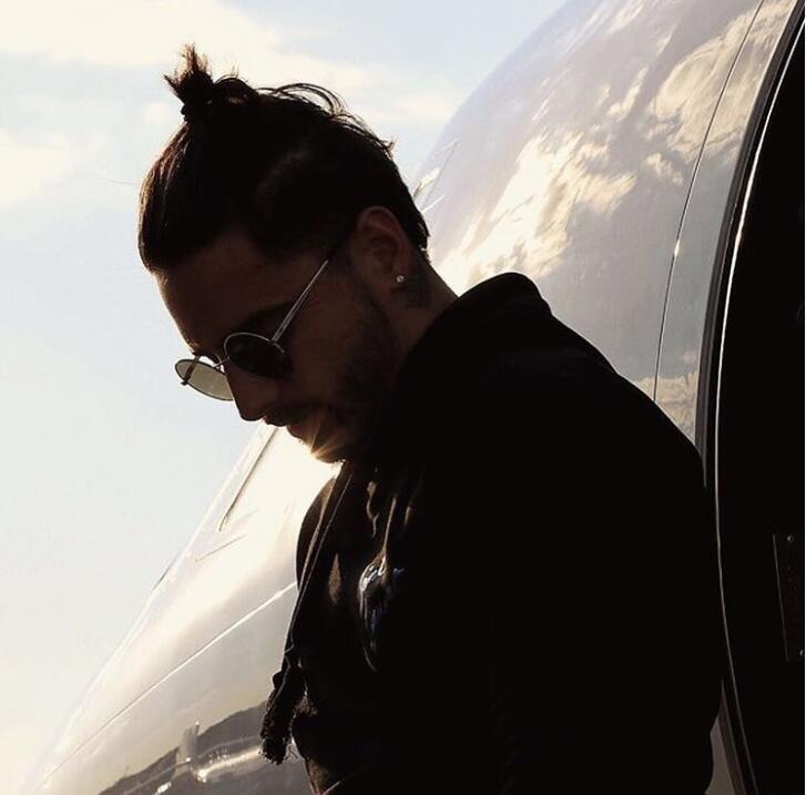 maluma y su avión karisma