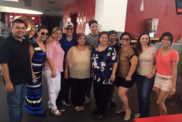 Los familiares de Ana, viajaron desde Navojoa, Sonora y están felices de...