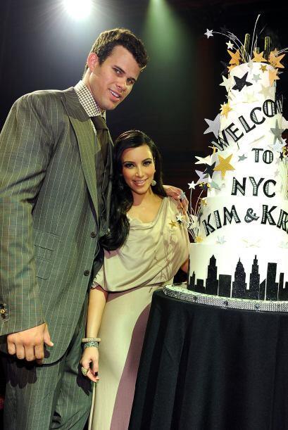 Así de felices lucían  todavía  Kim Kardashian y si...
