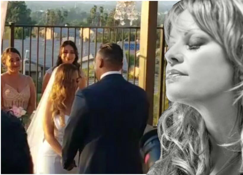 Jenni en la boda de Juan Rivera