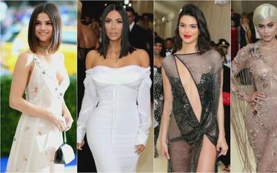 Las famosas no se arriesgaron en la alfombra roja de los MET Gala de Nue...