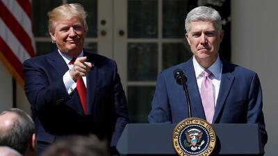 ¿Cuáles serían las prioridades de Neil Gorsuch, nuevo juez de la Corte Suprema de Justicia?