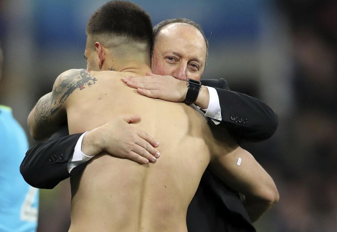 Rafa Benítez cobró revancha de su despido del Real Madrid ascendiendo al...