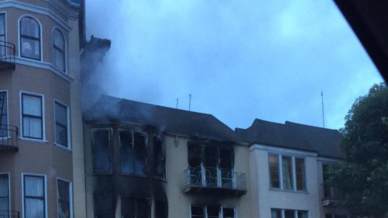 Incendio en el distrito Marina deja a un herido