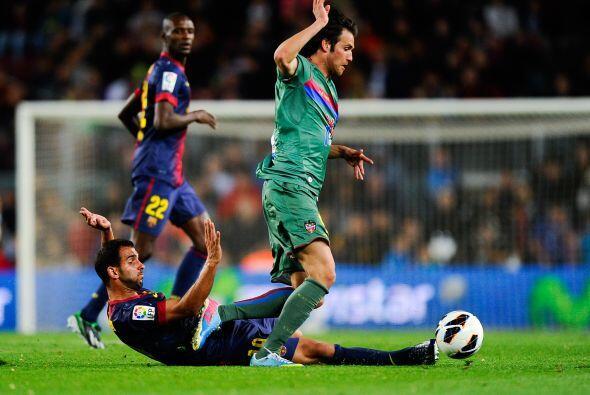Partido gris del Barcelona que no contó con Messi, Piqué y empezó con Xa...