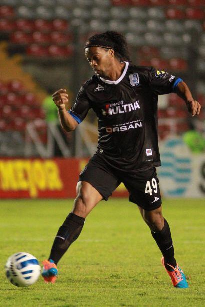 Ronaldinho: El suceso del torneo, fue la llegada del Astro Brasileño, la...