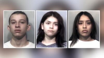 Eric Michael Spillers, de 20 años, Marissa Ann Esparza, de 21, y Alyssa...