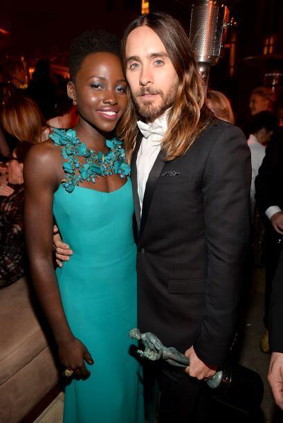Con Jared Leto, quien ha ganado también muchos premios a Actor de...