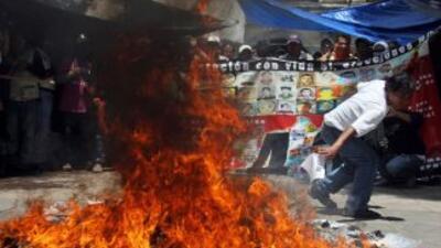 Los maestros arreciaron sus protestas en Oaxaca desde las elecciones del...