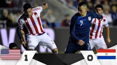 El Team USA se impuso a Paraguay en un juego que no tuvo nada de amistoso
