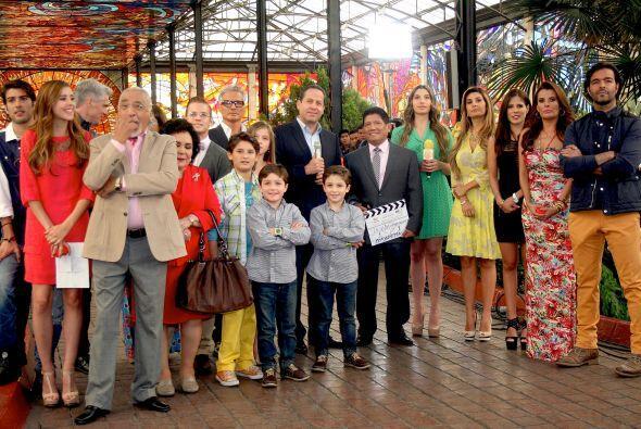 """El elenco de """"Mi Corazón Es Tuyo"""" arrancó con las grabaciones."""