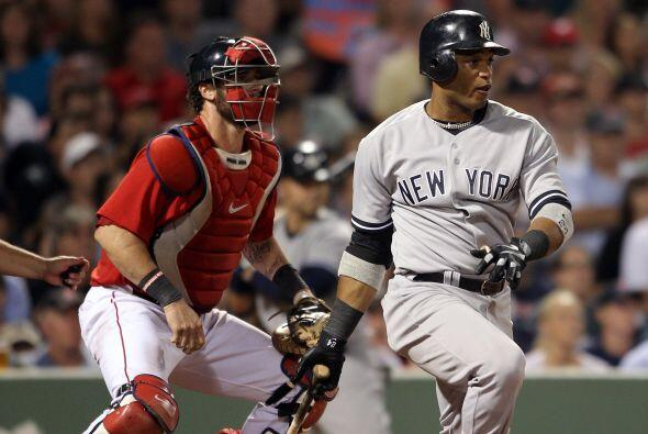 2B. Robinson Canó. Yankees de Nueva York. En 2011, Canó batea para .295,...