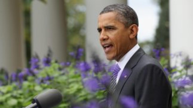 Obama se ha embarcado en una gira nacional, que esta semana le ha llevad...