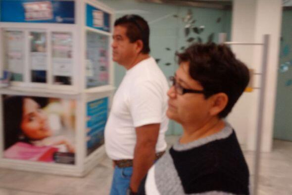 Salieron de México para coincidir con el pontífice durante su primera vi...