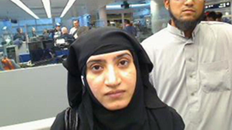 Tashfeen Malik aparece en la imagen proporcionada por el Gobierno de EEUU.