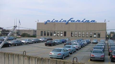 Fábrica Pininfarina en San Giorgio Canavese a las afueras de Turin