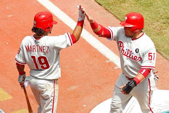 C. Carlos Ruiz. Phillies de Philadelphia.    En la temporada, Ruiz...