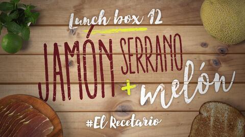 Jamón serrano con bolitas de melón (Día 12) - 23 ideas para lunch boxes...
