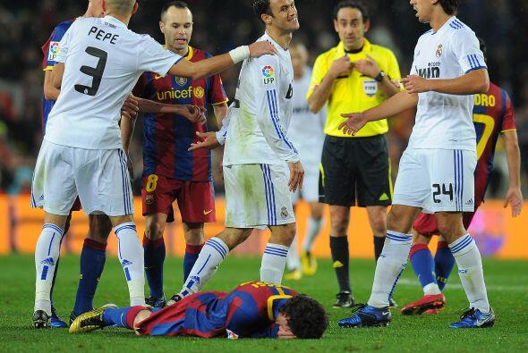 Y se cansó de recibir patadas. Uno de los jugadores que más le pegó fue...