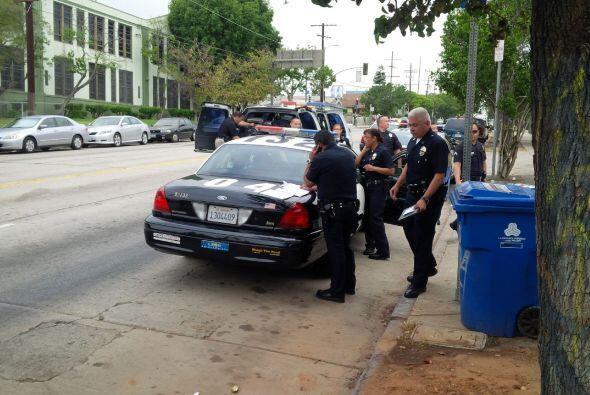 El Departamento de Policía de Los Ángeles busca a un menor de 2 años que...