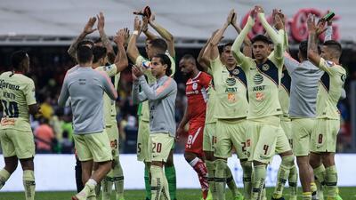 El color en el Azteca: las Águilas del América volaron hacia semifinales y eliminaron al Toluca
