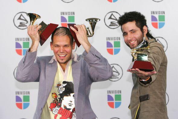 Calle 13 se llevó sus primeros premios en 2006 gracias a su &eacu...