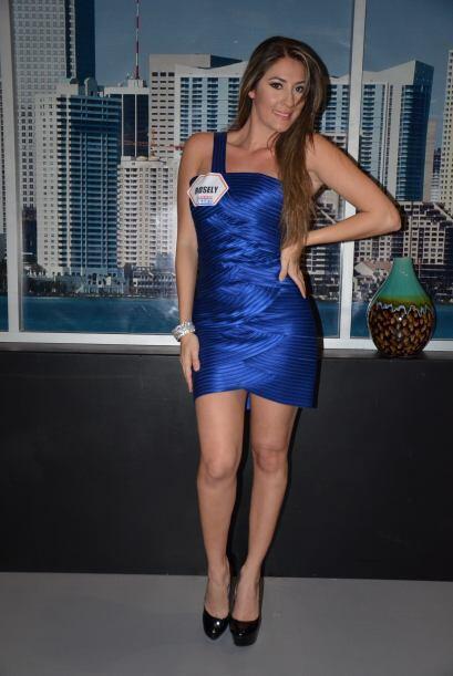 Rosely, la participante ganadora, no podía ocultar su satisfacci&...