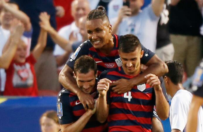 El Team USA le quitó el primer lugar del Grupo B a Panamá  USA NIC.jpg