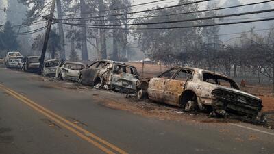 Encuentran más cadáveres calcinados por el incendio Camp en el norte de California