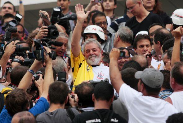 El ex mandatario de Brasil, Luis Ignacio da Silva, Lula, estuvo presenci...