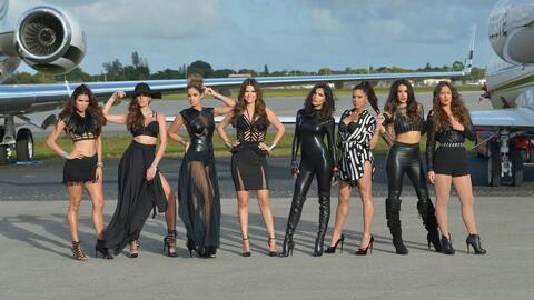 Las reinas de Nuestra Belleza Latina