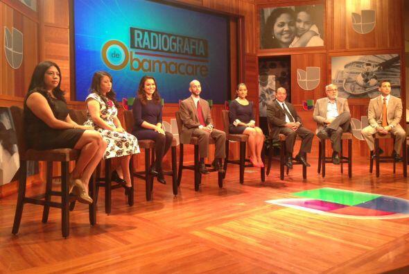 Al programa fueron invitados varios expertos en el tema de la reforma de...